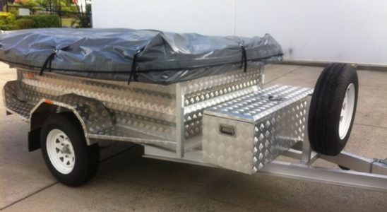 durable 4X4 Trailer